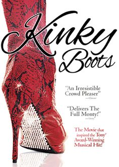 KINKY BOOTS DVD - Out 10/29!