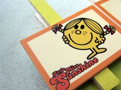 Little Miss Sunshine Clips  birthday treat bags by OneMoreSunshine, $8.00