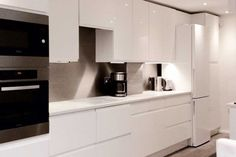 High Gloss White | Real Kitchens