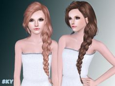 Hair 257g by Skysims - Sims 3 Downloads CC Caboodle