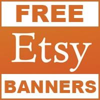 Learn how you can get an Etsy Shop Banner for free.