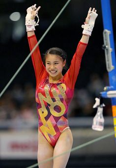 Gymnastics Leotards, Gymnastics Girls, Gymnastics Posters, Gymnastics Photography, Beautiful Athletes, Female Gymnast, Olympians, Japanese Culture, World Championship