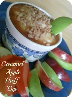 The Better Baker: Caramel Apple Fluff Dip
