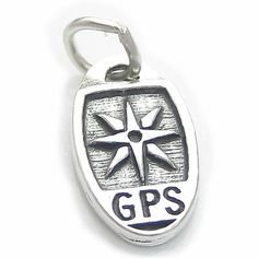 Geocaching gps sterling #silver #charm .925 x 1 geo caching ##charms cf5453,  View more on the LINK: http://www.zeppy.io/product/gb/2/360867492800/