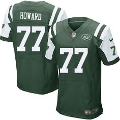 NFL New York Jets  77 Austin Howard Elite Green Men Jersey Nfl Jets d82489614