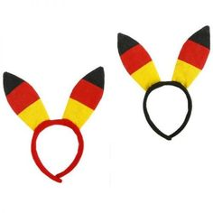 """Tolle Fanartikel zur WM2014, wie """"Plüsch-Haarreif Bunny,Hasenohren-Haarreif,Deutschlandflagge,ca. 20 cm"""" jetzt kaufen: http://fussball-fanartikel.einfach-kaufen.net/schmuck-peruecken/pluesch-haarreif-bunnyhasenohren-haarreifdeutschlandflaggeca-20-cm/"""
