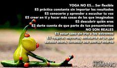 Yoga no es..