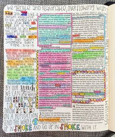 bible journaling james pitter patter art