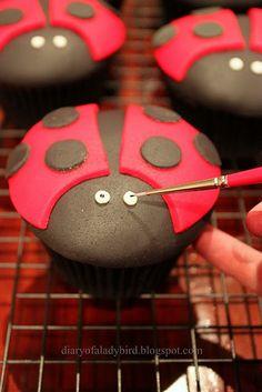 Ladybird Cupcakes!!!!