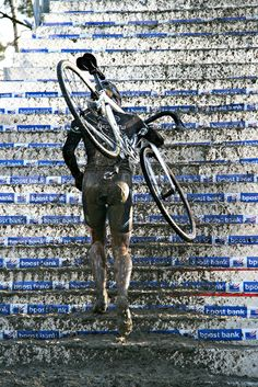 Get muddy - Bike - Cyclocross mudparty. Better yet, let's have a Powder Keg Party!