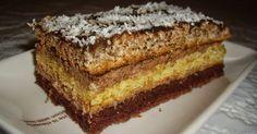 Prajitura cu trei feluri de blat Banana Bread, Anna, Cake, Desserts, Food, Tailgate Desserts, Deserts, Kuchen, Essen