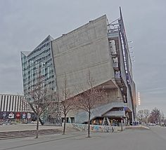 UFA-Palast in Dresden, Germany, by Coop Himmelb(l)au, blog post: Why music reaches the parts that architecture can't