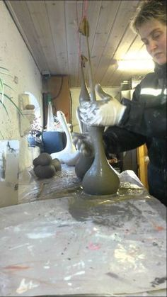 Gås i beton