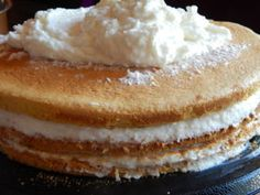 Cake Recipes, Dessert Recipes, Paleo, Easy Desserts, Macarons, Vanilla Cake, Food And Drink, Baking, Drinks