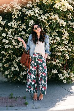 Style Trial: Floral Pants