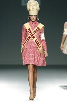 Madrid Fashion Week  Elena Rial  Primavera-Verano 2015 | telva.com