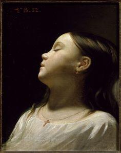 Cave to Canvas, Léon Bonnat, Sleeping Girl, 1852
