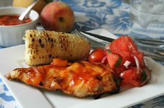 Peach-Honey Barbecue Sauce