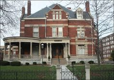 The Indianapolis Propylaeum, a literary & social club for women was founded in 1888. The Romanesque Revival building located at 14th & Delaware Streets in Indianapolis was constructed in 1890 by John William Schmidt, president of the Indianapolis Brewing Company.