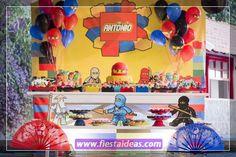 25 decoraciones de fiesta Ninjago