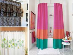 Come creare delle tende doccia con il fai da te