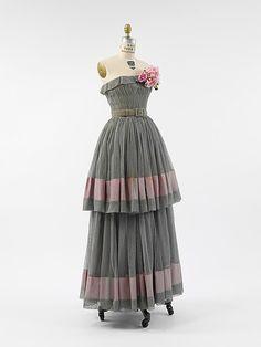 Dress, Cristobal Balenciaga, 1950