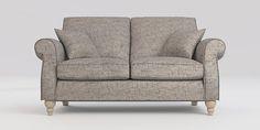 Buy Ashford Medium Sofa (3 Seats) Boucle Weave Light Dove Low Turned - Light from the Next UK online shop
