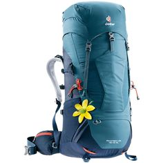 Tackle the trail in total comfort with the lightweight and ventilated women's Deuter Aircontact Lite 45 + 10 SL pack. Available at REI, Satisfaction Guaranteed. Internal Frame Backpack, Backpack Reviews, Backpack Online, Pumps, Hiking Backpack, Women's Backpack, Unisex, Black Friday Deals, Golf Bags