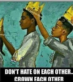 ....real talk...