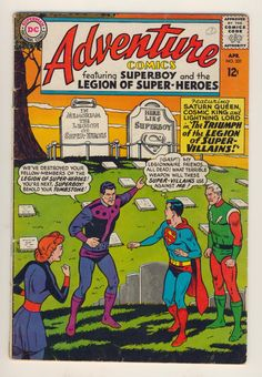 Adventure Comics Legion of Super Heroes 331