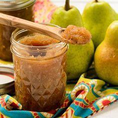 Honey Ginger Pear Butter