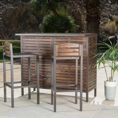 Outdoor Best Selling Home Decor Furniture Kathryn Bar Set - 296852