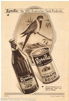 Rosella AD Australian Kitchenalia Vintage Advertising 1948 Original AD | eBay