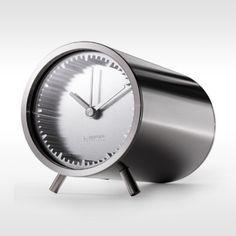 Leff Tafelklok Tube Clock door Piet Hein Eek