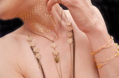 Y Necklace Chain, Layered Necklace Body Chain Bohemian Jewelry Handmade by theELEPHANTpink on Etsy