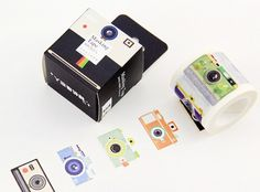 Masking tape 4cm - Vintage Camera