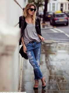 T-shirt+jeans=perfect combo