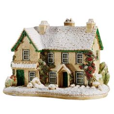 Lilliput Lane Winter at Hill Top House (L3360) (bestseller) I had a large number of houses but as downsizeing I could no longer collect them I loved having them and they where always a talking point when visitors came