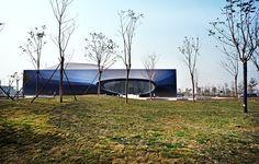 In Progress: Shenzhen Qianhai Exhibition Center,Courtesy of Urbanus