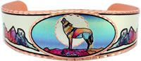 Colorful Wolf Jewelry, Handmade Colorful Bracelets