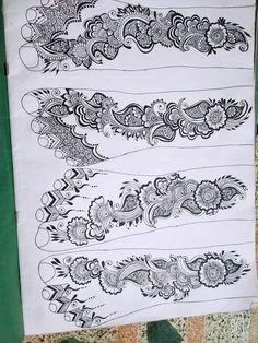 Round Mehndi Design, Floral Henna Designs, Legs Mehndi Design, Mehndi Design Pictures, Modern Mehndi Designs, Mehndi Designs For Beginners, Wedding Mehndi Designs, Henna Designs Easy, Beautiful Henna Designs