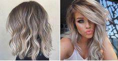 Ideas de peinados en tonos de rubio cenizo, ¿te sumas a esta tendencia?