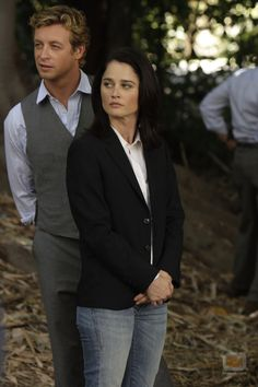 Jane and Lisbon (The Mentalist)