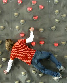Learn more about the world's first climbing wall with LED holds and sensors.