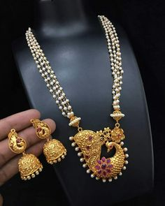 Used Gold Jewelry For Sale Antic Jewellery, Gold Jewellery Design, Bead Jewellery, Pendant Jewelry, Beaded Jewelry, Gold Jewelry For Sale, Indian Jewelry Sets, India Jewelry, Pearl Necklace Designs