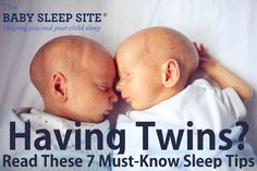 Having twins? Then you'll want to read these 7 twin sleep tips, guaranteed to help you get your twins sleeping soundly and on the same schedule.