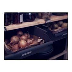 IKEA - IVAR, Schublade, Die Schubladenfront kann auf zwei Arten montiert werden - komplett schließfähig oder mit einer schmalen Öffnung.