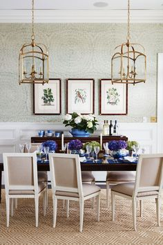 beautiful dining room by Andrew Howard Interior Design