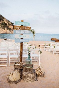 20 Stunning Beach Wedding Ceremony Ideas-Backdrops, Arches and Aisles chic rustic beach wedding ceremony ideas. 20 Stunning Beach Wedding Ceremony Ideas-Backdrops, Arches and Aisles chic rustic beach wedding ceremony ideas. Wedding Ceremony Ideas, Beach Wedding Reception, Beach Ceremony, Beach Wedding Decorations, Beach Wedding Favors, Rustic Wedding, Wedding Ceremonies, Beach Wedding Signs, Wedding On The Beach