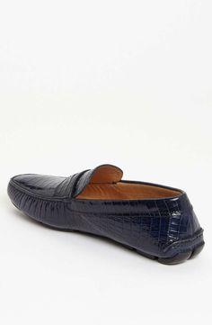 ec2093bf1 Prada Croc Embossed Driving Shoe on Wantering